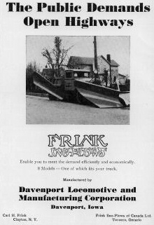 Frink - Antique Snowfighting Equipment