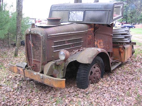 1920's Oshkosh Truck