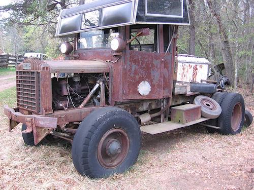 FWD axle trailer